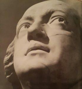 Гудон. Граф Калиостро. Мрамор. 1786. Фрагмент