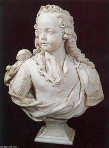 Антуан Куазево (Куазевокс) (1640-1720). Людовик XV. 1716. Королю шесть лет
