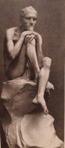 Мефистофель. Мрамор. 1883