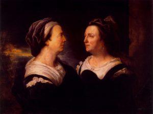 Гиацинт Риго . Портрет матери, Мари Серр. 1695.