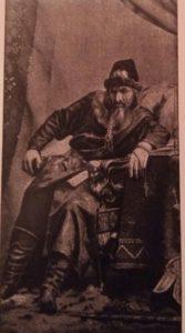 "Шаляпин в роли Ивана Грозного в опере ""Псковитянка"". Фото 1896"