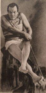 """Шаляпин в роли Мефистофеля в опере Бойто """"Мефистофель"""". Фото 1912 г"""