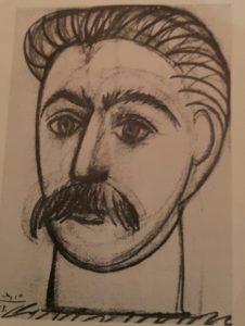 Пикассо. Иосиф Сталин 1953.
