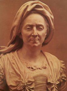 А.Куазевокс. Портрет Мари Серр - матери Гиацинта Риго, мрамор, 1706.