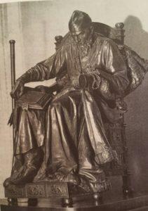 Иван Грозный. Бронза. 1871