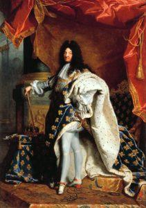 парадный портрет Людовика XIV работы Гиацинта Риго