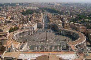 Площадь Св.Петра в Риме