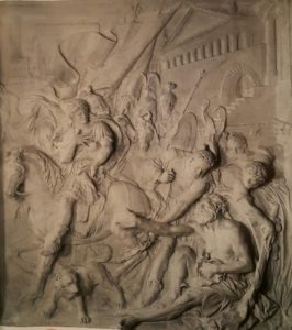 Пюже. Александр и Диоген. Мрамор. Примерно 1670-ые годы