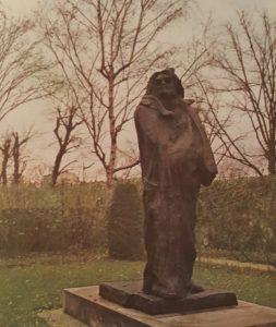 О.Роден. Памятник О.Бальзаку. Музей Родена в Париже