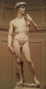 Микеланджело. Давид. 1504. Мрамор