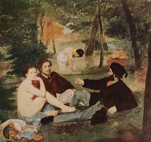 Э.Мане. Завтрак на траве. 1863