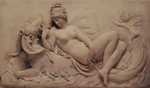 Джон Дир. Венера на морском чудовище с купидоном и путти». Мрамор. 1785-1787