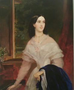 К.П.Брюллов. Портрет Э. Тимм. 1838