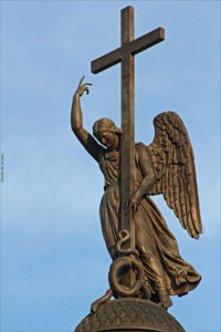 Б.Орловский. Ангел на Александрийской колонне