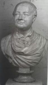 Шубин. Портрет Ломоносова. Гипс. 1793. Русский музей