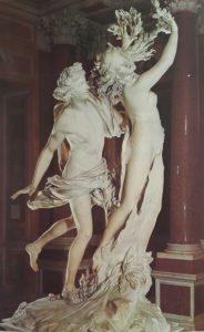Бернини. Аполлон и Дафна. 1622-1625. Мрамор. Волосы и пр. – Джулиано Финелли