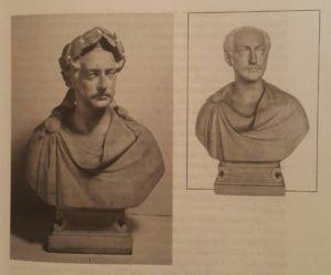 Бьенеме. Портрет Николая I. Мрамор. 1846