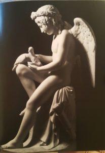 Луиджи Бьенеме (1795-1878), итальянец. Амур, поящий голубей Венеры. Модель – 1821, мрамор – 1845-1848