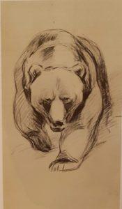 Идущий медведь. 1932