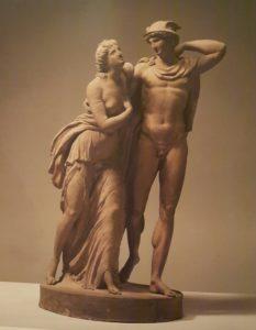 И.Т.Сергель. Меркурий и Психея. 1770-ые. Терракота. Стокгольм