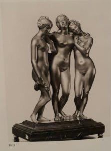 Три Грации. Бронза. Статуэтки, сделанные на основании оригинала Прадье