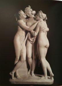 Канова. Три Грации. Мрамор. 1816. Эрмитаж