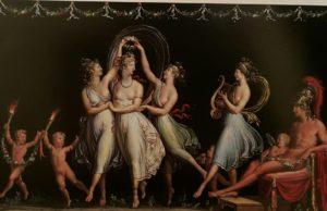 Канова. Грации, танцующие под музыку Купидона. Бассано дель Граппа, Городской музей. 1806
