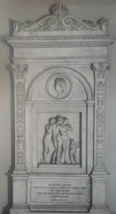 Торвальдсен. Памятник Андреа Аппиани. Поставлен в 1819-1826 в Милане