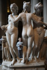 Три грации. Лувр. 2 в. н.э
