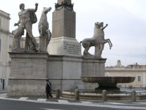 Диоскуры из Монте Кавалло. Рим