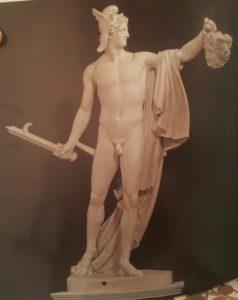 А.Канова (1757-1822). Персей. 1799-1801. Мрамор. Бельведерский дворец (дворик) в Ватикане