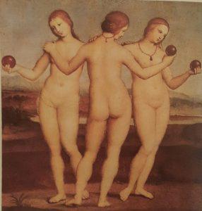 Рафаэль Санти (1483 – 1520). Три Грации