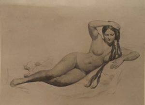 А.А.Иванов. Лежащая обнаженная женщина. 1835-1836