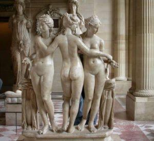 Три Грациию. Лувр