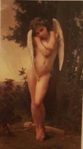 Бугро. Промокший Амур. 1891. В частной коллекции
