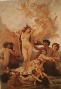 Бугро. Рождение Венеры. 1879. Музей Орсе в Париже