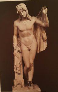 Лоренцо Бартолини. Нарцисс. Гипсовая модель. 1817-1820. Чувствуется крепкий профессионал