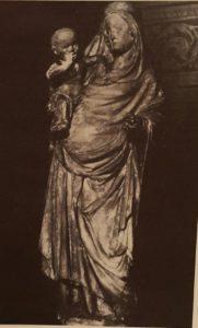Мадонна из Пражской ратуши. До 1381