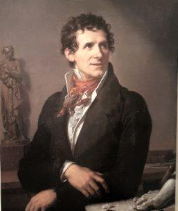 Фабр. Портрет Кановы. 1812. Музей Фабра в Монпелье