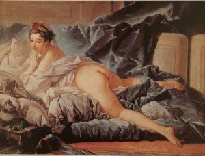 Буше. Одалиска (с темными волосами). 1745