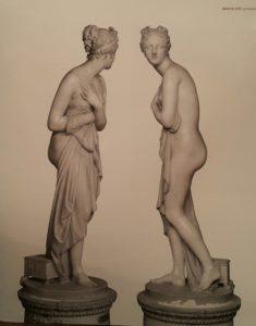 Канова. Венера Италийская. Мрамор. 1805. Галерея Питти. Флоренция