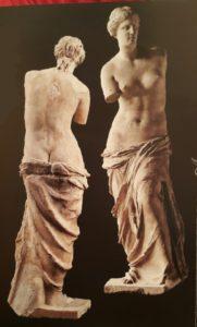 Венера Милосская. Найдена в начале XIX века на острове Милос (тогда Турция). Около 100 г. до н.э. Лувр