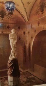Малая гостиная. Серебряный альков. 1914-1916. Дворец Юсуповых (более крупный план)