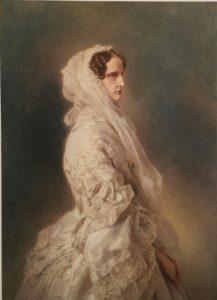 Винтерхальтер. Александра Федоровна. 1860