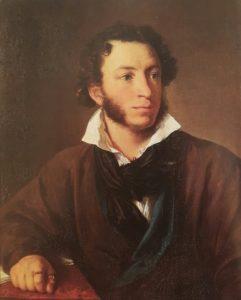 В.А.Тропинин. Пушкин. 1827
