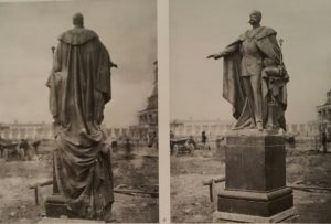 Опекушин. Статуя Александра II для памятника в Московском кремле.1892-1893. Разрушен в 1918