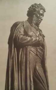 Опекушин. Памятник Пушкину. Фрагмент