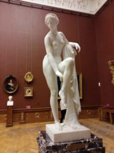 И.П.Витали. Венера. 1852. Николай I вдохновил скульптора на эту «лебединую песню». Шедевр