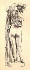Афродита Каллипига. Рисунок из «Словаря античности».