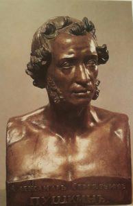 Витали. Пушкин. Бронза. 1837